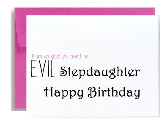 Simple Birthday Wishes For Stepdaughter E Card