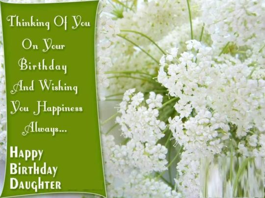 Superb Birthday Wishes For Daughter Greetings