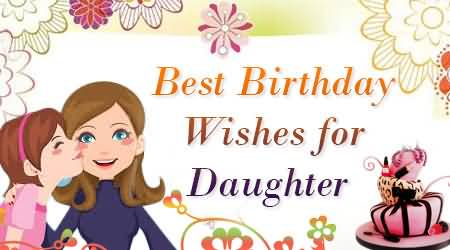Superb Birthday Wishes For Daughter Wallpaper