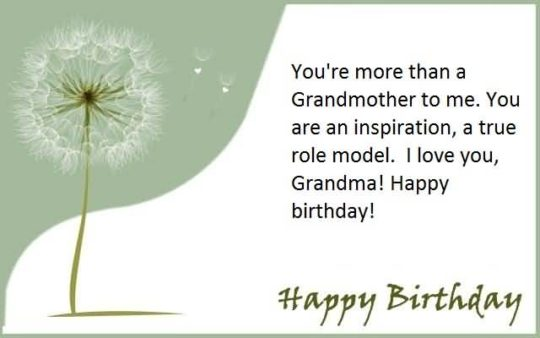 Superb Birthday Wishes For Grandmother Wallpaper