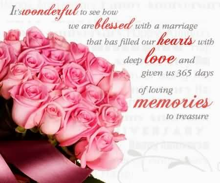 Sweet Message Anniversary Wishes For Aunt Image