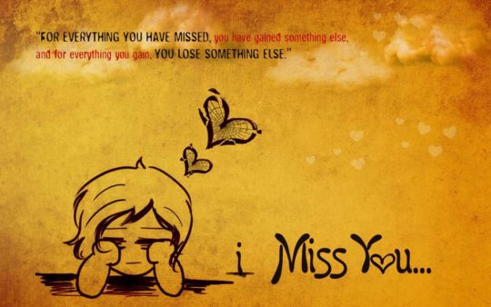 Sweet Miss You Quote You Lose Something Else