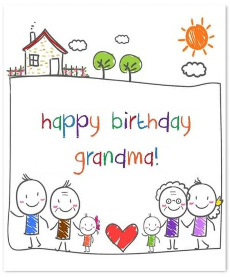 Ultimate Birthday Wishes For Grandmother Image