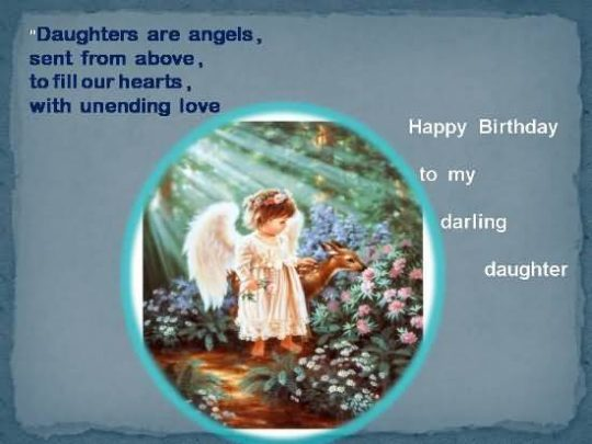 Unique Birthday Wishes For Daughter Image