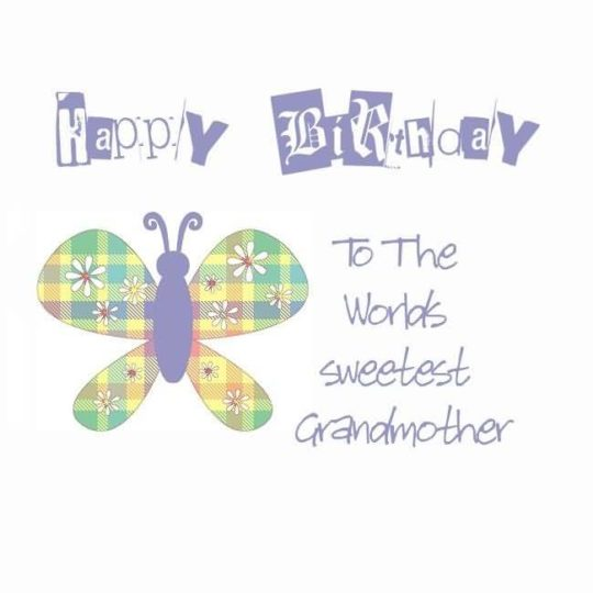 Unique Birthday Wishes For Grandmother Graphic