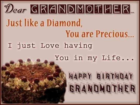 Unique Birthday Wishes For Grandmother Greetings