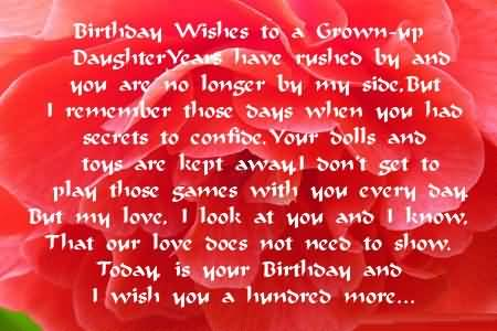 Wonderful Birthday Wishes For Daughter Greetings