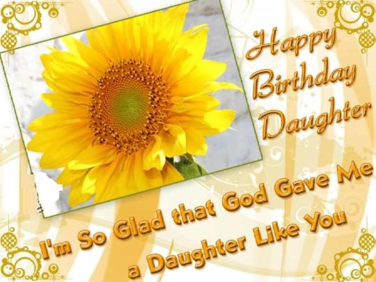 Wonderful Birthday Wishes For Daughter Image