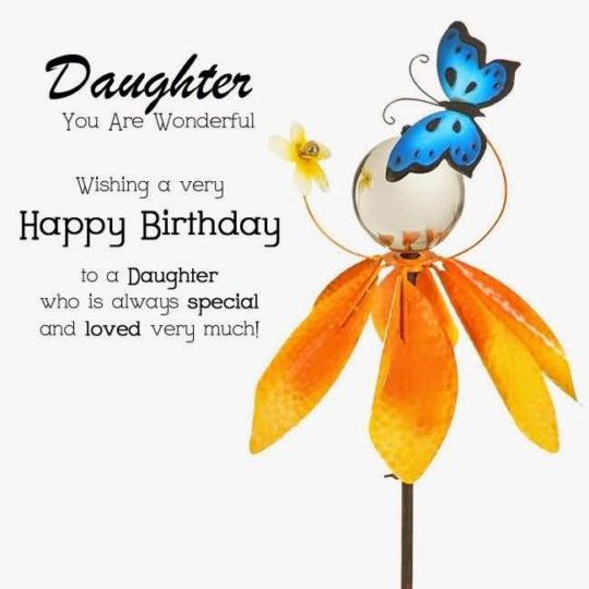 Wonderful Birthday Wishes For Daughter Wallpaper (2)