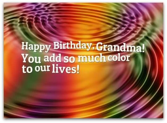 Wonderful Birthday Wishes For Grandmother Wallpaper