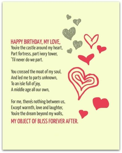 Awesome Birthday Wish Rhyming With Beautiful Heart