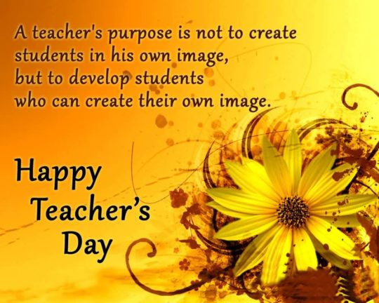 Best Card For Teachers Day Wishes