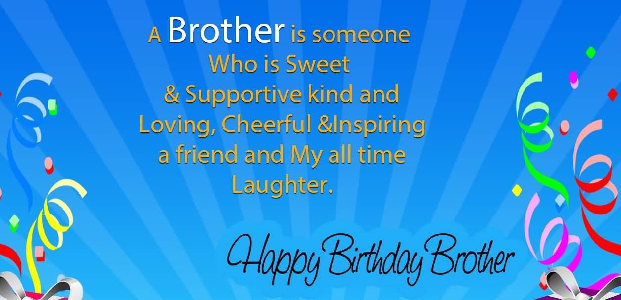 loving brother birthday wishes