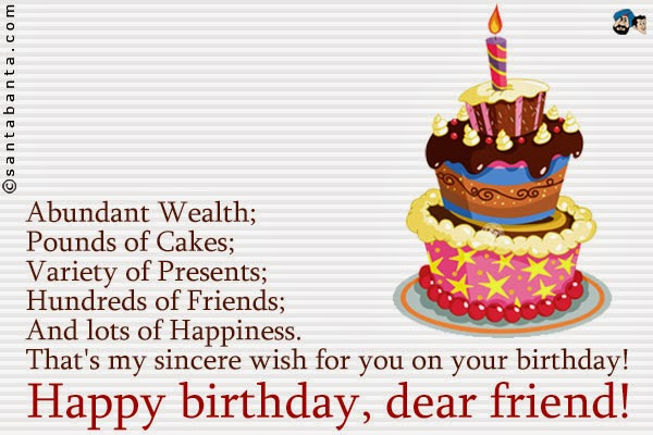 Birthday Wishes For Friends Page 12 Nicewishes Com Variety Happy Birthday Wishes