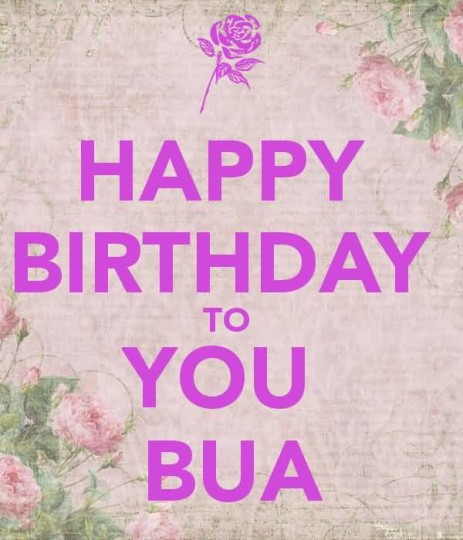 Amazing Greeting Happy Birthday To You Bua