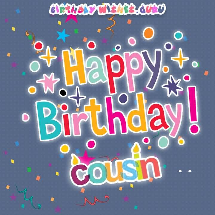 Birthday Wishes Guru Happy Birthday Cousin