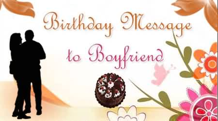 Birthday message To Boyfriend