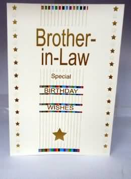 Brother In Law Special Birthday Wishes