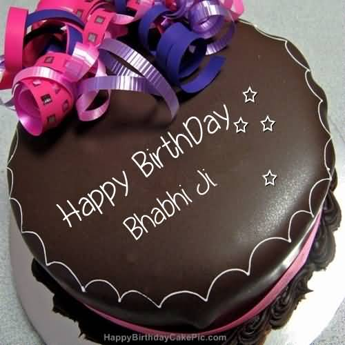 Cake For Happy Birthday Bhabhi Ji