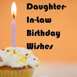 Daughter In Law Birthday Wishes