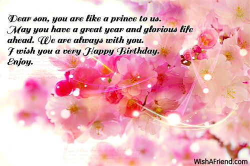 Birthday Wishes For Sons Greetings Messages Cards Page 26 Nice Wishes