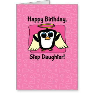 Greeting To Happy Birthday Step Daughter