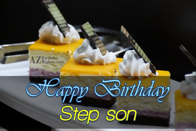 Happ Birthday Step Son