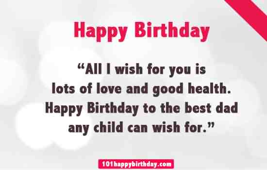 Birthday Wishes For Father Health ~ Birthday wishes for father page nicewishes