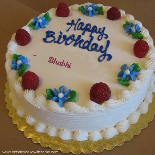 Images Of Birthday Cake For Bhabhi : Lovely Cake For Birthday Happy Birthday Nicewishes.com
