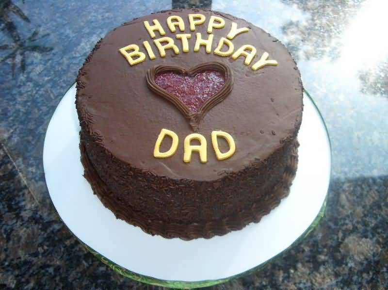 Bday Cake Images For Dad : Happy Birthday Dad Cake - NiceWishes