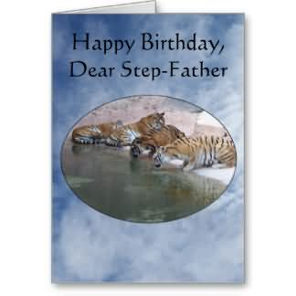 Happy Birthday Dear Step Father