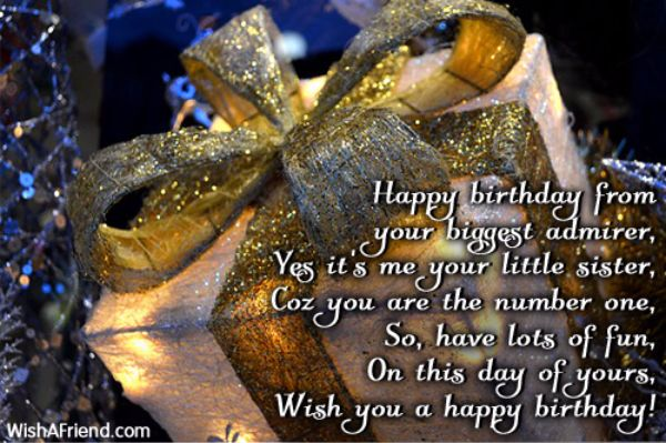 Happy Birthday From Your Biggest Admirer Wish You A Happy Birthday