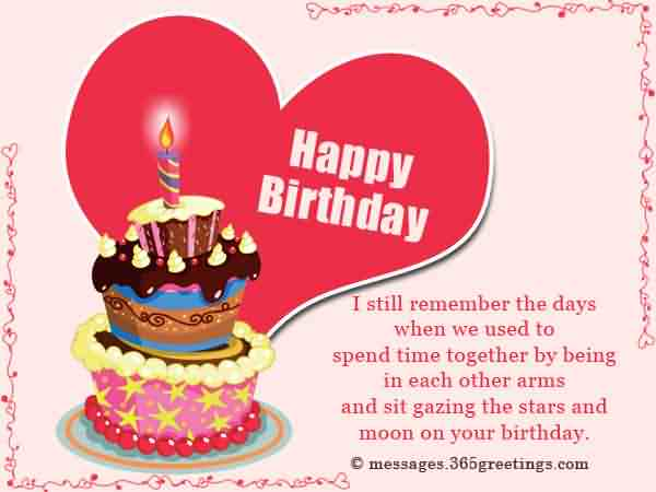 birthday wishes for ex boyfriend greetings messages cards