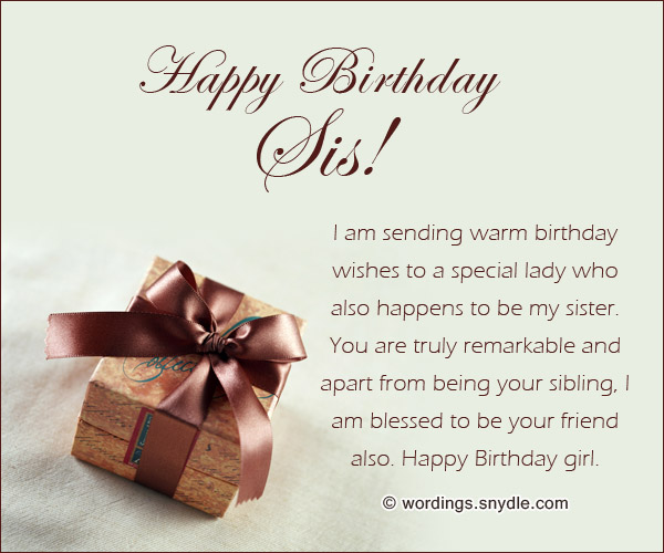 Happy Birthday Sis I Am Sending Warm Birthday Wishes To A Special Lady Happy Birthday Girl (2)