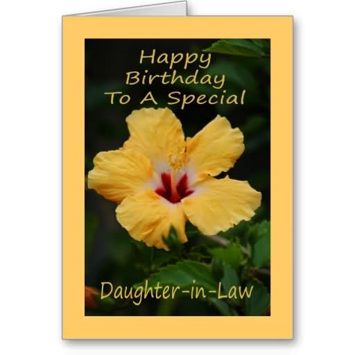 Happy Birthday To A Special Daughter In Law (2)