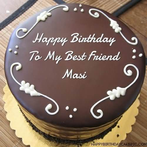 Friend Forever Happy Birthday Masi Nicewishes