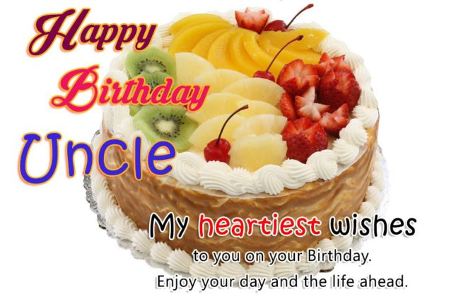 Happy Birthday Uncle My Heartiest Wishes To You On Your Birthday