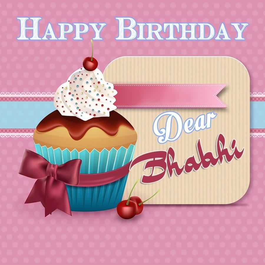 Happy Birthdya Dear Bhabhi