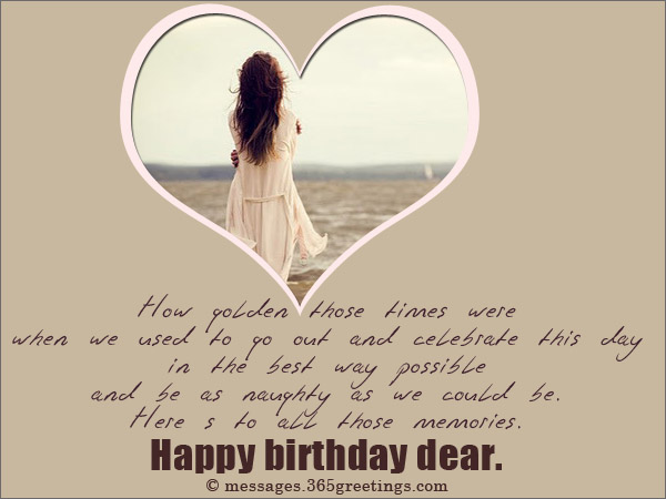 How Golden Those Time Were Here So To All Those Memories Happy Birthday Dear