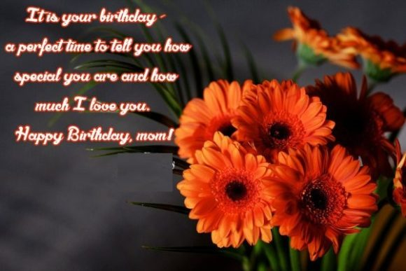 It's Your Birthday A Perfect Time To Tell You How Special You Are And How Much I Love You Happy Birthday Mom