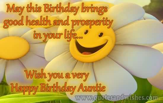 Happy Birthday Message Good Health ~ Happy birthday wishing you good health and prosperity in all your life nicewishes