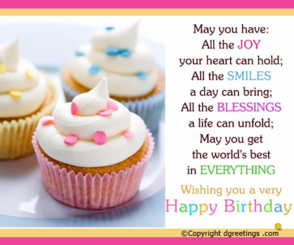 May You Have All The Joy Your Heart Can Hold Wishing You A Very Happy Birthday