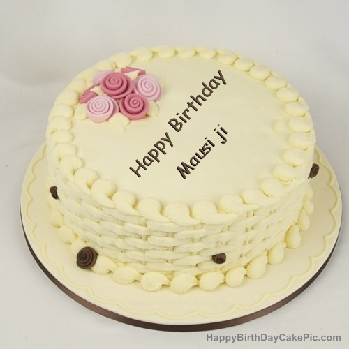 Nice Cake For Birthday Happy Birthday Mausi Ji