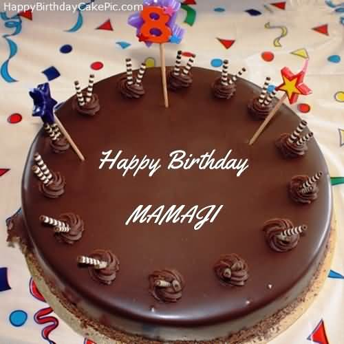 Nice Cake For Mamu Birthday