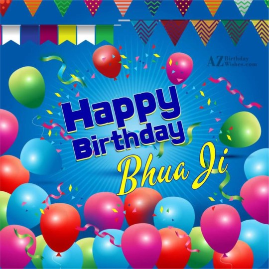 Nice Happy Birthday Bhua Greeting