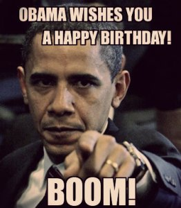 Obama Birthday Wishes Boom