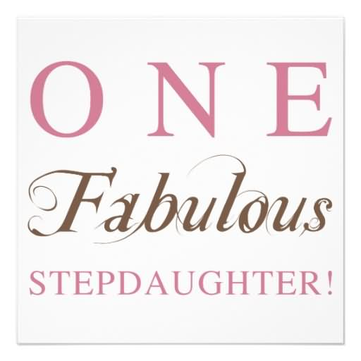 One Fabulous Step Daughter