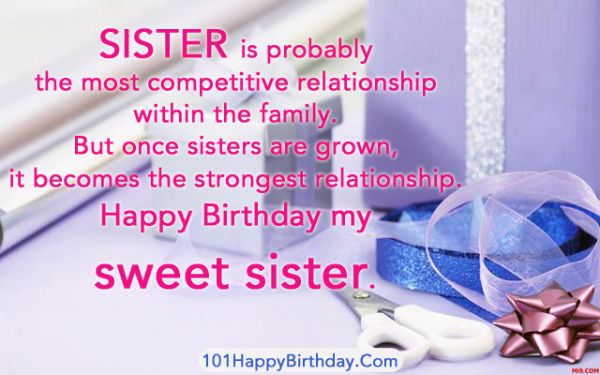 Sister Is Probably The Most Competitive Relationship Within The family Sweet Sister