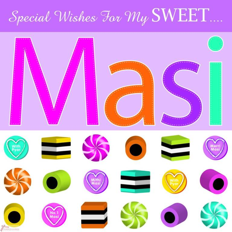 Special Wishes For ToMy Sweet Masi