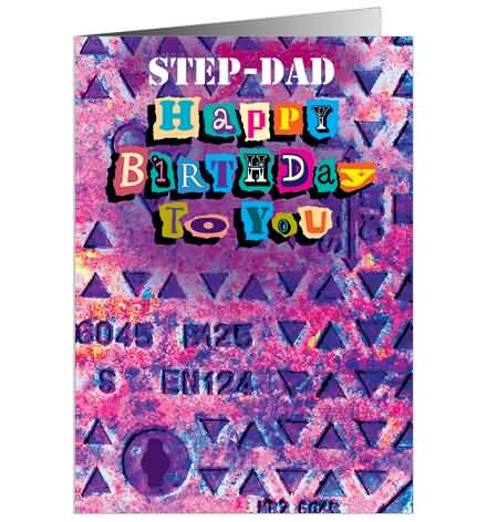 Step Dad Happy Birthday To You